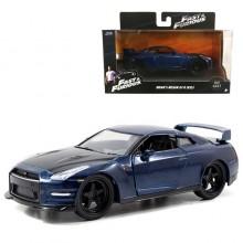 Jada 1:32 Fast & Furious Die-Cast Brian's 2009 Nissan GT-R R35 Car Model Collection