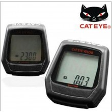 Japan Cateye Velo 7/8 Cycling Wire Speedometer Computer Bicycle Bike