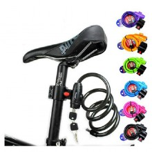 Bicycle Multi Color Wire Lock Steel TY588 Cycling origina ABS plastic Road Bike