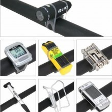 Bicycle Accessories Universal Light Lamp Clip Versatile Elastic Straps