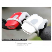 Cobra Frog Type Fashion LED Silicone Bicycle Tail Light Rear Lamp