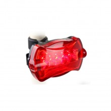 5 LED Fashion Plastic Bicycle Tail Light Rear Lamp Accessory MTB Bike