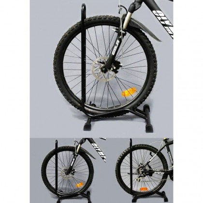 Universal BICYCLE BIKE DISPLAY STAND RACK STORAGE FLAT L Shape Folding New Model