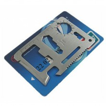 10 in 1 Bicycle Outdoor Repair Tool Card Life-Saving Multi-Function