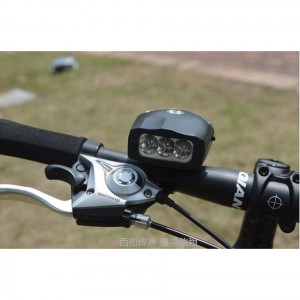 2 in 1 LED Lights Bicycle Horn Headlight Multi Functional MTB