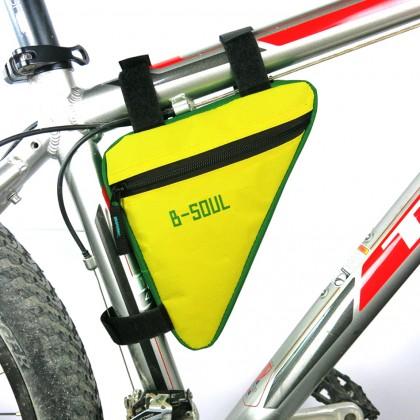 B-SOUL Bike Triangular Front Bag Packer Riding Euipment Bicycle Accessory Mult