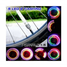 Bicycle Lights Colourful 32 Pattern Double Sensation Mountain Bike Accessory