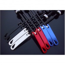 2 Pcs Quick Release Titanium Skewers Road Bike Aluminum Tide Bicycle MTB