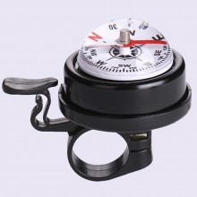 Fashion Metal Ring Handlebar Bell Sound Alarm for Bike Bicycle with Compass
