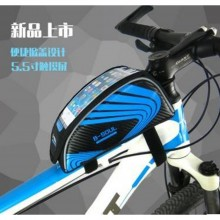 B-Soul Velcro Type Bicycle Top Tube Smartphone Frame Bag Fashion