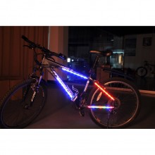 Bicycle Safety Body Lights 14 Led Frame Mountain Road Bike Riding Warning Lamp