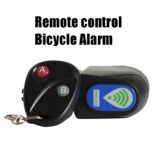 Bicycle Anti Theft Vibration Alarm Remote Control Mountain Road Bike Lock MTB