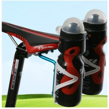 Bicycle Aluminum Saddle Double Water Bottle Rack Triathlon Carriage Mount Mountain