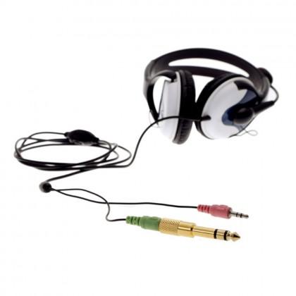 3.5 To 6.5 mm Audio Converter Plug Dedicated Headphone Fashion Small Turn Big