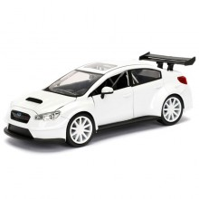 Jada 1:24 Fast & Furious Die-Cast Mr.Little Nobody's Subaru WRX STI Car Model Collection