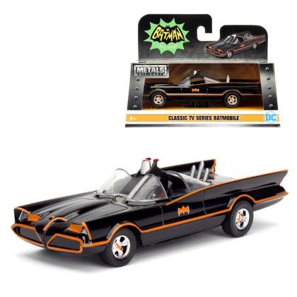 Jada 1:32 Die-Cast Batmobile Batman & Robin Figures Classic TV Series Model Collection