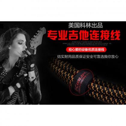 6M 6.35mm Audio Music Cable Jack Guitar, Ukulele Bass, Keyboard, Instrument MONO