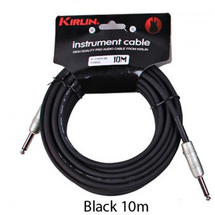 10M 6.35mm Audio Music Cable Jack Guitar, Ukulele Bass, Keyboard, Instrument MONO