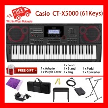 61 Keys Casio CT-X5000 Digital Electronic Keyboard Piano Organ 800 Preset tones
