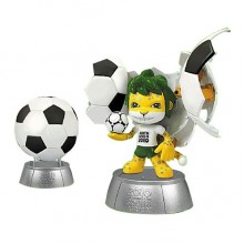 FIFA Ball To Mascot - Celebrate 2010 Fifa World Cup South Africa With Zakumi New