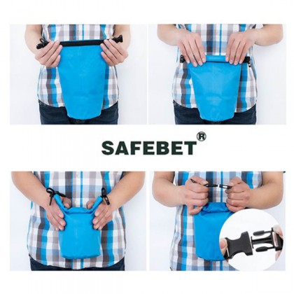 2L Safebet Waterproof Shoulder Dry Bag Multipurpose Camp Outdoor Pouch New