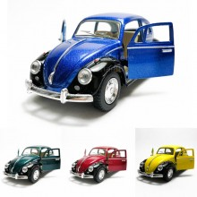 Kinsmart 1:32 Die-cast 1967 Volkswagen Classical Beetle Car Model with Box