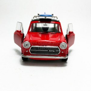 Welly 1:34-1:39 Die-cast Mini Cooper 1300 Surfboard Car Red Model with Box Collection