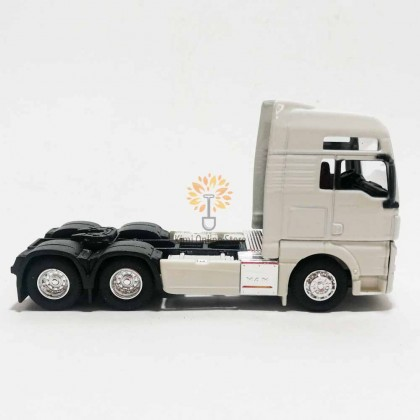 Welly 1:64 Die-cast MAN TGX XXL Truck White Model with Box Collection New Gift