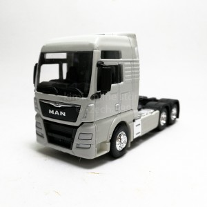 Welly 1:64 Die-cast MAN TGX Truck White Model with Box Collection New Gift