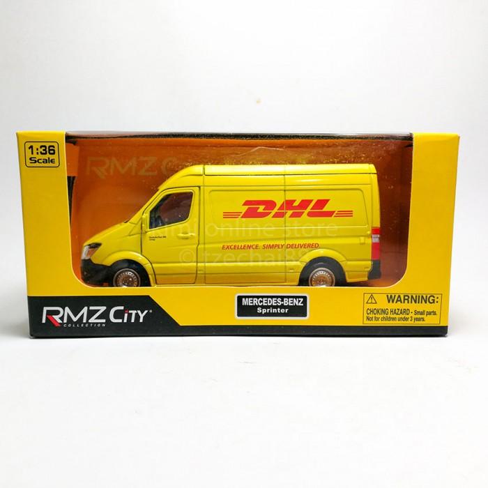 RMZ City 1:36 Die-cast Mercedes-Benz Sprinter DHL Vesion