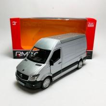 RMZ City 1:36 Die-cast Mercedes-Benz Sprinter Van Silver Model with Box