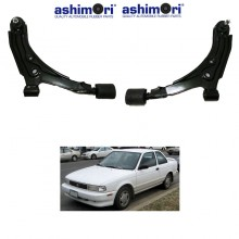 Ashimori Lower Control Arm Assembly Front Right + Left Nissan Sentra B13 90'-94'