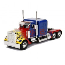 Jada 1:24 Die-Cast Optimus Prime T1 Transformers Hollywood Rides Model Collection