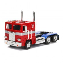 Jada 1:24 Die-Cast G1 Optimus Prime Autobot COE Semi-Truck Transformers Television Series Model Collection