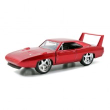 Jada 1:32 Fast & Furious Die-Cast Dom's Dodge Charger Daytona Car Model Collection