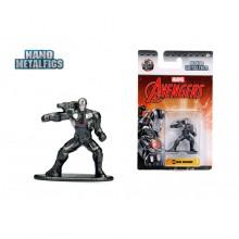 JADA 1.65'' Nano Metalfigs War Machine (MV24) Marvel The Avengers Action Figure Metal Diecast