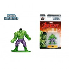 JADA 1.65'' Nano Metalfigs Hulk (MV26) Marvel The Avengers Action Figure Metal Diecast