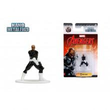 JADA 1.65'' Nano Metalfigs Nick Fury (MV28) Marvel The Avengers Action Figure Metal Diecast