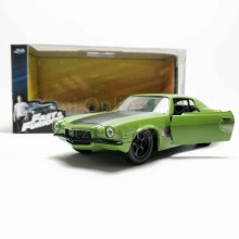 Jada 1:32 Fast & Furious Die-Cast 1973 Chevy Camaro Car Model Collection