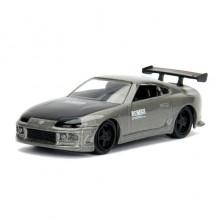 Jada 1:64 JDM Tuners Die-Cast 1995 Toyota Supra Car Grey Model Collection