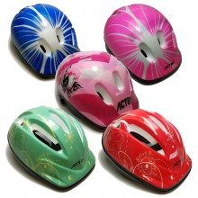 Kids Bicycle Roller Skates Helmet Protection Set Thick Version Unisex Sports New