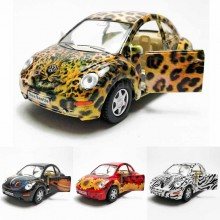 Kinsmart 1:32 Die-cast Volkswagen New Beetle Printing Car Model with Box Collection