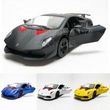 Kinsmart 1:38 Die-cast Lamborghini Sesto Elemento Car Model with Box Collection