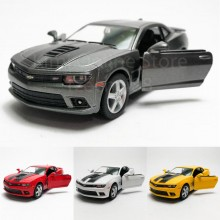 Kinsmart 1:38 Die-cast 2014 Chevrolet Camaro with Printing Car Model with Box Collection