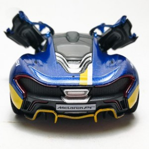 Kinsmart 1:36 Die-cast McLaren P1 with Printing Car Model with Box Collection