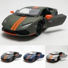 Kinsmart 1:36 Die-cast Lamborghini Huracan LP610-4 Avio Matte Car Model with Box Collection