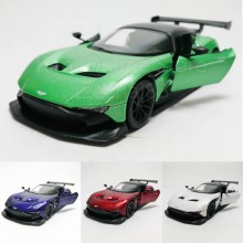 Kinsmart 1:38 Die-cast Aston Martin Vulcan Car Model with Box Collection