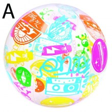 """Bestway 31001 Inflatable Designer Beach Ball 24"""" 61cm Swimming Play New"""