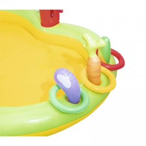 Bestway 53065 Lil' Farmer Play Center Swim Pool 1.75m x 1.47m x 1.02m Summer Garden Kids Family Swimming Pool