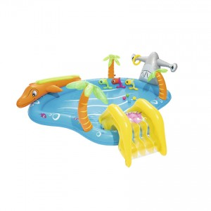 Bestway 53067 Sea Life Play Center Swim Pool 2.80m x 2.57m x 87cm Summer Garden Kids Family Swimming Pool